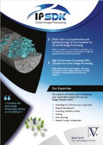 Use IPSDK Smart Image Processing with Digi XCT