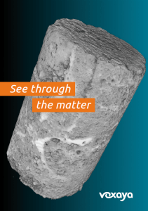 See through the matter with Voxaya