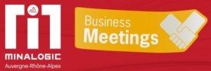 Minalogic business meetings 2021